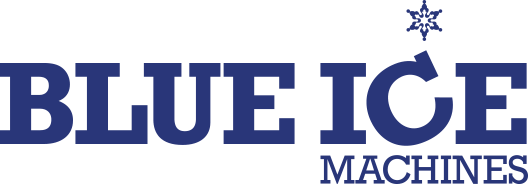 Blue Ice Machines Logo