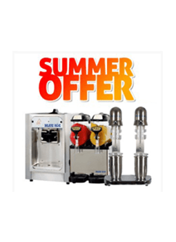 T15 Soft Serve Ice Cream Machine + Mi7 5×2 Slush Machine+ FREE Shaker Machine + SPECIAL OFFER STARTER KIT